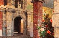 Imitation - brick, stone,  showroom