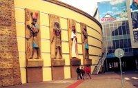 Egyptian facade, casino Admiral