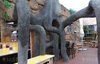 Stylization - tree and stone imitation