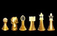Chessmen (LED) - set 14 pcs - height 140 - 205 cm, ø 90 cm